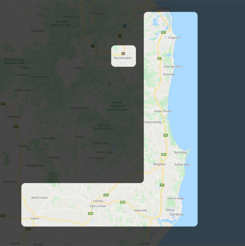 Northern Rivers Firewood delivery Zones-01-01